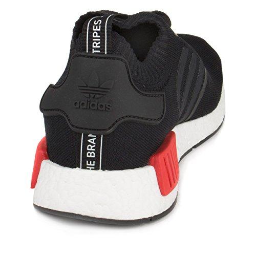 Adidas Nmd Runner Pk Svart / Blå-röda Mens Sportskor Storlek 14