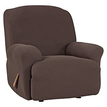 Amazon.com: Sure Fit Stretch Sillón Reclinable Slipcover ...