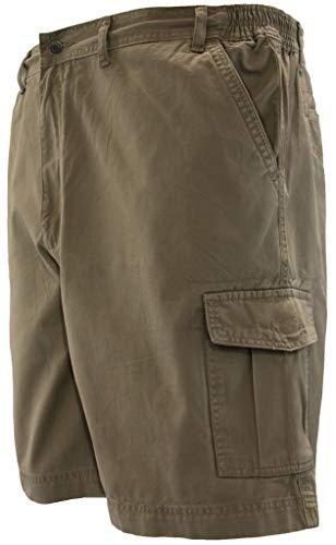- Full Blue Cargo Shorts with Expandable Waist Size 42 Khaki #872D