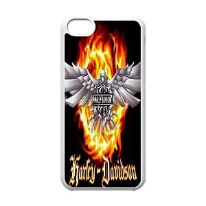 iPhone 5c Cell Phone Case White_Harley Davidson_005 F4B8W