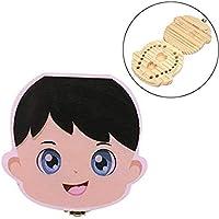 Squishtoy Dientes Caja Organizador Bebé Dientes Lanugo Diente