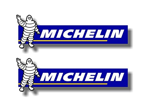 "2 MICHELIN MAN 9"" Vinyl Sticker Decals Tyres Pro4 Tires Power Winter Racing Decal Stickers"