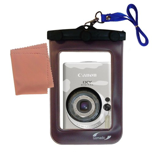 Lightweight Underwater Camera Bag suitable for the Canon IXY Digital 70 Waterproof Protection by Gomadic