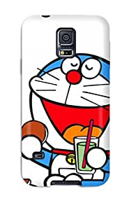 4910962K55984042 Top Quality Case Cover For Galaxy S5 Case With Nice Doraemon Appearance
