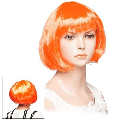 Leeloo Wig Cosplay The 5th Fifth Element Party Prop Xcoser