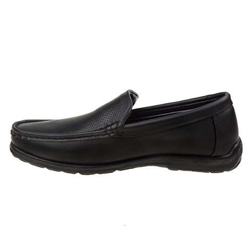 Slip Mens Shoe Perforated Black NATION On Dress PARISH fTWqRwEf