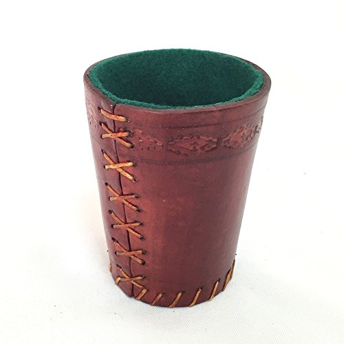 Argentine Leather Dice Cup