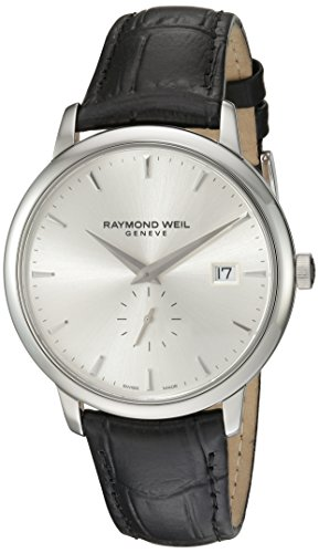 Raymond-Weil-Mens-5484-STC-65001-Analog-Display-Quartz-Black-Watch