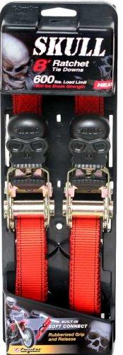CargoLoc 84052 Skull Tie Downs, 2-Pack (Allied International Tie Down)