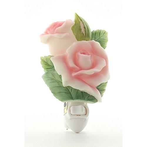 (Ibis & Orchid Rose Bud Night Light #50182)