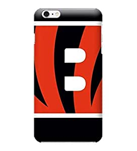 NFL-Cincinnati Bengals Skin Tough Phone Case Covers,Stylish Protective Covers Compatible For iphone 6(4.7) by ruishername