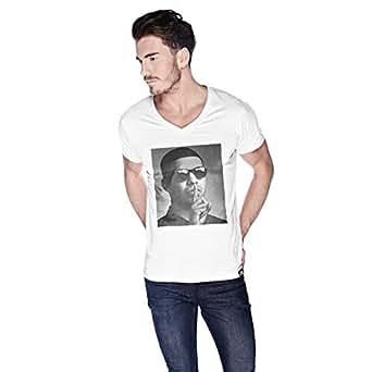 Creo Drake T-Shirt For Men - S, White