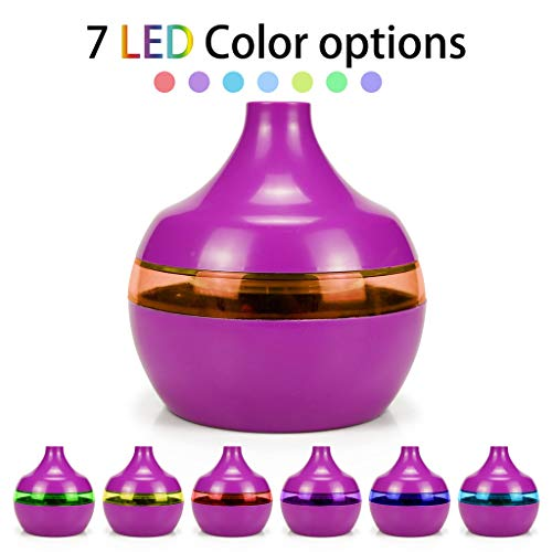 - OrchidAmor USB Air Aroma Essential Oil Diffuser LED Ultrasonic Aroma Aromatherapy Humidifie 2019 New