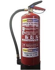Extintor polvo 6 Kg. EFICACIA 27A/183B para oficina, casa, industria. cumple normativa RIPCI/CTE/NBE (Sin señal)