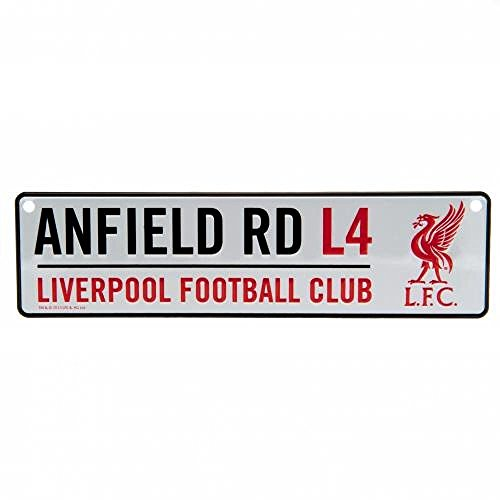 Football Gifts - Liverpool Fc Men'S Metal Window Sign by Football Gifts - Liverpool FC