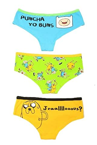 Adventure Time Bombastic Hot Pants 3 Pack Size : Small (Womens Adventure Pants)