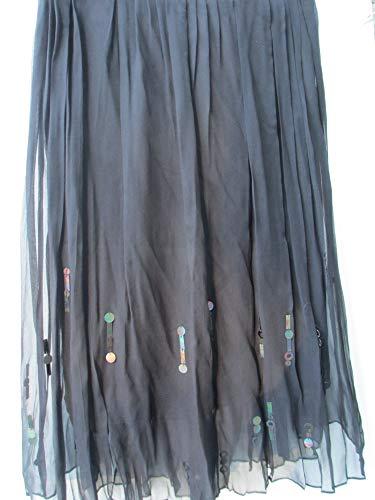 Elie Tahari Women's Helena Skirt Black Size 14
