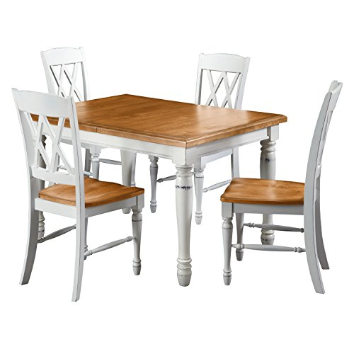 Home Styles 5020-308 Monarch Rectangular Dining Table and...