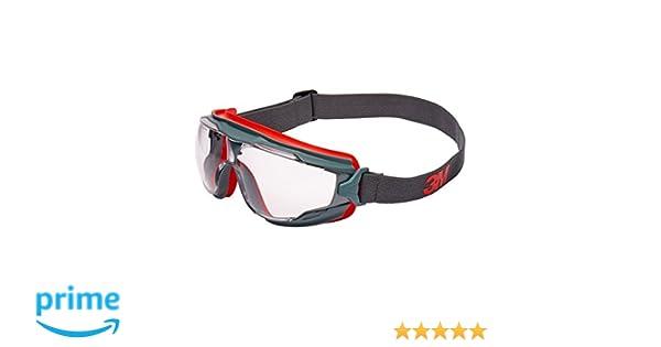 3M GG501SGAF Gafas Panorámicas GOGGLE GEAR 500 ventilación indirecta, PC ocular incoloro, recubrimiento SCOTCHGARD 1 gafa/bolsa: Amazon.es: Industria, ...