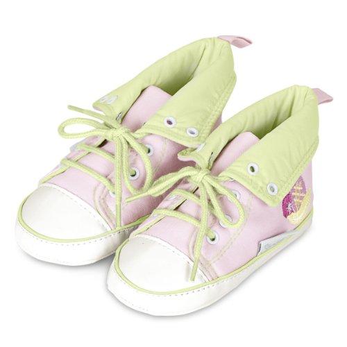 Sterntaler 55303 - Baby-Schuh aus Stoff mit Stickerei rosa (702)