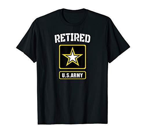 Retired US Army Veteran T-Shirt Gift for Veteran