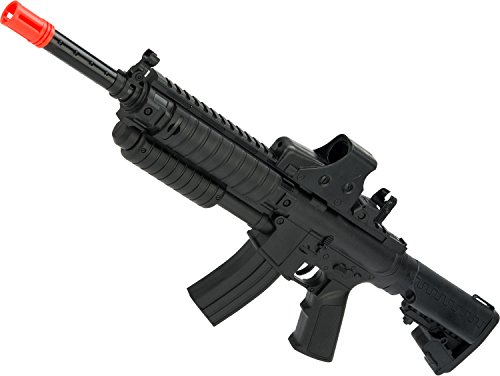 Evike - Pump Action Mini Spring Powered Airsoft M4 Rifle (Color: Black) ()