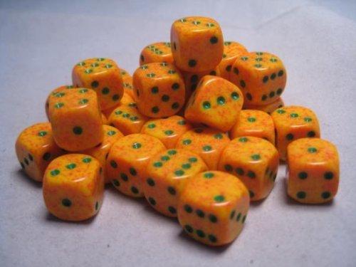 輝く高品質な Chessex Dice d6 Speckled Sets: Lotus Speckled B001NH5LSA - 12mm Six of Sided Die (36) Block of Dice B001NH5LSA, きもの遊美:45e3c18e --- cliente.opweb0005.servidorwebfacil.com