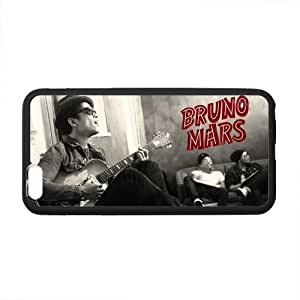 Onshop Custom Black and White Bruno Mars Phone Case Laser Technology for iPhone 6 plus