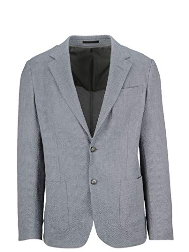 Z Zegna Men's 5747251Dnmg08 Grey Cotton Blazer for sale  Delivered anywhere in USA