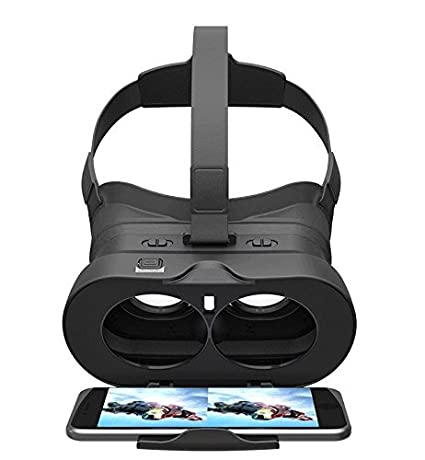 /Última con 3d gafas de realidad virtual auriculares Bundle/ /Compacto y f/ácil de llevar