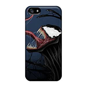 Protective Hard Phone Covers For Iphone 5/5s (BoD3641tOqK) Support Personal Customs High-definition Venom Pictures