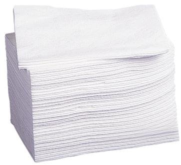 Medline NON260506 Deluxe Dry Disposbale Washcloths, 10