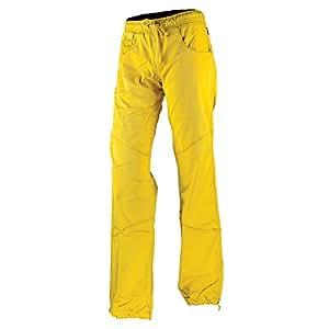 La Sportiva Kalymnos Pant - Women's Yellow XS