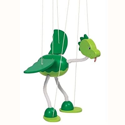 Goki Marionette Dinosaur Nepomuk Toy: Toys & Games