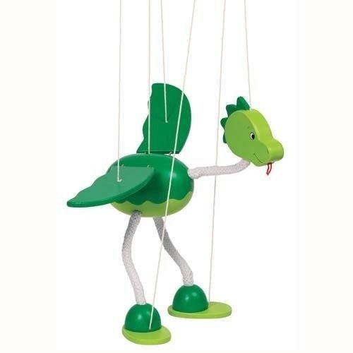 Toys Pure Dinosaur Wooden Marionette GoKi 51942