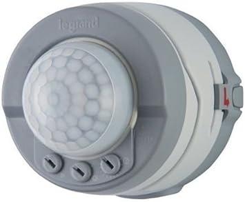 Legrand 69740 PIR - Detector de movimiento para exteriores (360º ...