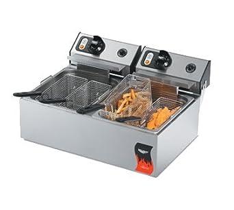 Amazon.com: vollrath 40708 Dual Fry Pots Countertop freidora ...