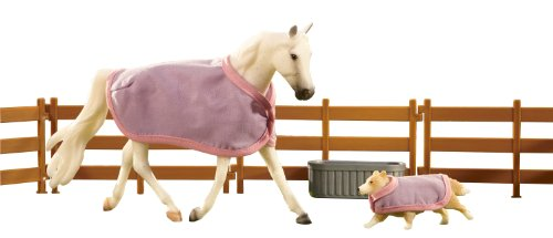 (Breyer Best Friends Morgan Horse and Shetland Sheepdog Toy Set)