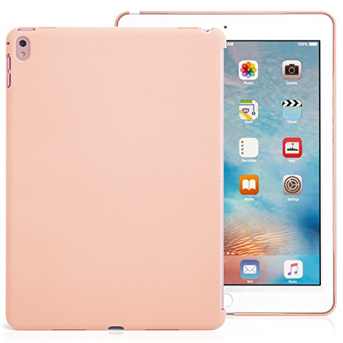 (iPad Pro 9.7 Inch Pink Sand  Back Case - Companion Cover - Perfect match for smart keyboard.)