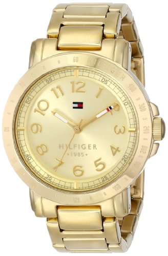 's 1781395 Gold-Plated Watch (Tommy Hilfiger Water Resistant Bracelet)