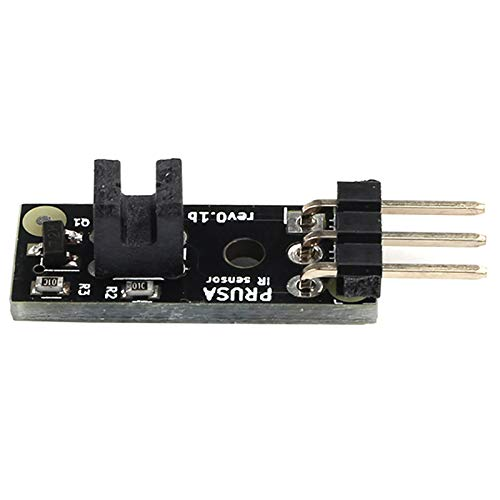 TOOGOO Mk2.5//Mk3 Un Mk2.5S Mk3S Ultimo Aggiornamento del Sensore Un Filamento 3D Ir Rileva Il Sensore Un Filamento Bloccato per Le Parti della Stampante 3D Prusa I3 Mk3
