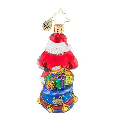 Christopher Radko Choo Choo Santa Little Gem Christmas Ornament