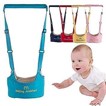 de uso doble transpirable Arn/és de seguridad ajustable para caminar para beb/és y ni/ños de 7 a 24 meses color amarillo