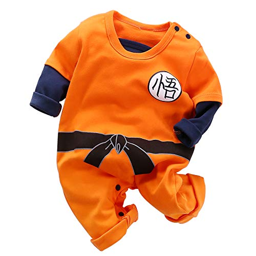 Dragon Ball Z Cosplay Long Sleeve Baby Boy