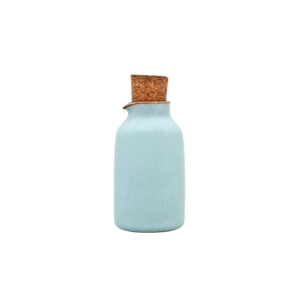Denby Heritage Piazza Oil Bottle, Stone, Blush Pink 370010700