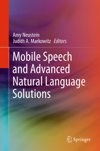 Download Mobile Speech and Advanced Natural Language Solutions Pdf
