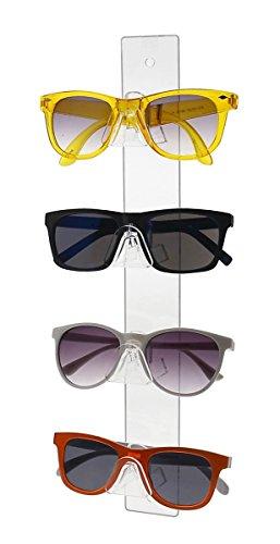 Marketing Holders 4 Tier Acrylic SUNGLASSES EYEGLASSES display stand - Sunglasses Display Racks