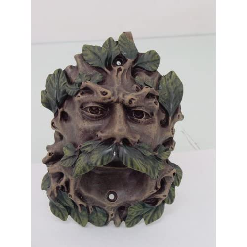 1 X Color Finish Celtic Greenman Wall Mounted Bottle Opener