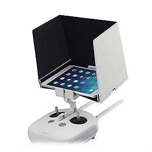 "DJI Accessories 5.5"" SmartPhone Sunshade Tablets Sun Visor Hood for DJI Phantom 4/3/2 Inspire 1 Fits for iPhone 4 5 6 6plus Samsung Sony HTC & More (5.5 inch)"