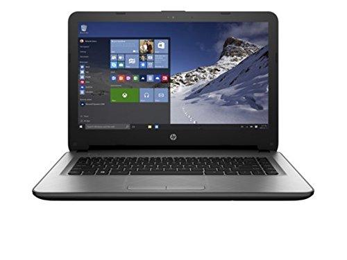 Price comparison product image HP 14t 14-Inch Notebook Laptop (Intel Celeron N3050 Processor, 2GB 32GB eMMC Windows 10, Turbo Silver)
